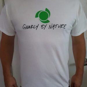 Gnarly Logo Shirt | White, Green